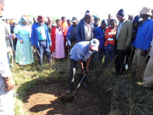Sod-turning-in-Gatyana-for-VIP-sanitation-project